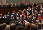 Prezes Naczelnego Sądu Administracyjnego prof. dr hab. Marek Zirk-Sadowski podczas inauguracyjnego posiedzenia Parlamentu Rzeczypospolitej Polskiej